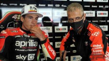 """MotoGP: A.Espargarò: """"Se l'Aprilia è a questo livello, molto dipende dal mio impegno"""""""