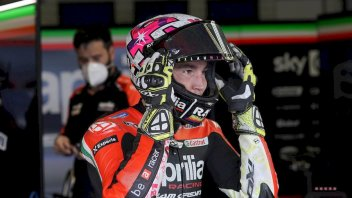 """MotoGP: A.Espargarò: """"I wanted a podium but we have to remember where Aprilia started from"""""""