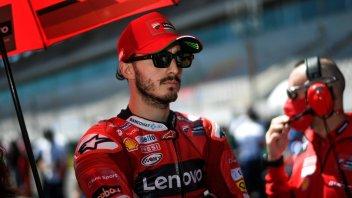 """MotoGP: Bagnaia: """"Se penso che devo vincere, so già che non ce la farò"""""""