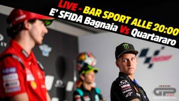 MotoGP: LIVE Bar Sport alle 20:00 dal Mugello: E' sfida Bagnaia Vs Quartararo