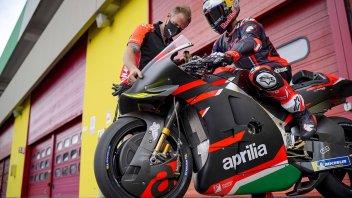 MotoGP: LIVE - La seconda giornata di test di Dovizioso e Aprilia al Mugello