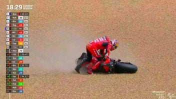 MotoGP: VIDEO Gli Highlight e le cadute del GP di Francia a Le Mans