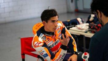 MotoGP: Marc Marquez accelera il recupero: si allena in pista con la CBR600RR