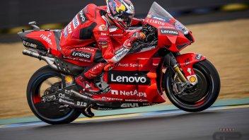 MotoGP: Le Mans, spettacolo Ducati per Miller e Zarco. Quartararo 3° Marquez cade