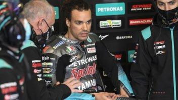 """MotoGP: Morbidelli: """"Terzo con 20 km/h in meno. Non posso che essere orgoglioso"""""""