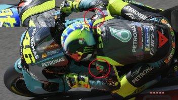 MotoGP: Rossi e Morbidelli studiano le 'forchette', aero-appendici di Dainese