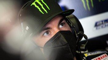 "MotoGP: Vinales: ""The slicks in the rain are scary, Quartararo's brave"""