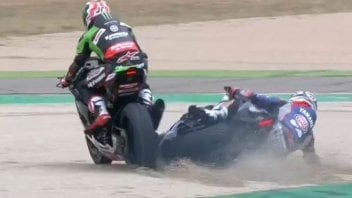 SBK: Gerloff takes full blame for third-lap incident with Rea