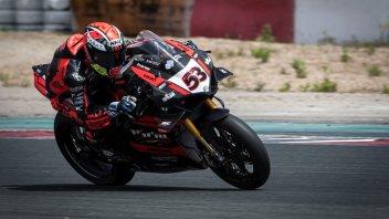 SBK: Tito Rabat vede la luce con la Ducati V4 a Navarra