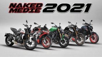 Moto - News: Guida all'acquisto: le migliori naked medie del 2021