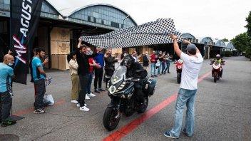 Moto - News: MV Agusta Turismo Veloce da record: 11 nazioni in 24 ore