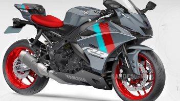 Moto - News: Yamaha YZF-R9: Kardesign la immagina così