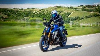 Moto - News: Suzuki GSX-S1000T: la maxi-naked arriverà anche in versione GT