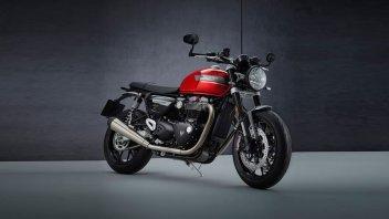 """Moto - News: Triumph Speed Twin MY21: altro che """"vintage"""", è più evoluta e più potente"""
