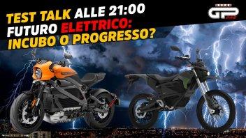 Moto - Test: LIVE- Test Talk alle 21:00- Moto elettriche: futuro da incubo o progresso?