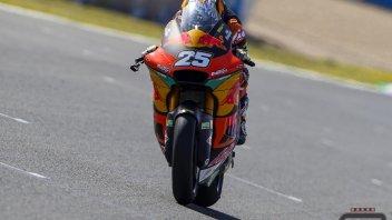 Moto2: Barcellona: Raul Fernandez torna al comando nelle FP2, 6° Marco Bezzecchi