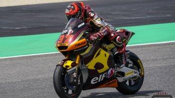 Moto2: Barcellona: Augusto Fernandez svetta nelle FP1, 5° Bezzecchi