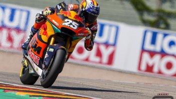 Moto2: Raul Fernandez pole e record della pista al Sachsenring, 2° Di Giannantonio