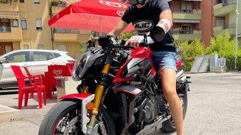 Moto2: Baldassarri in sella dopo l'operazione: una ripartenza... Brutale