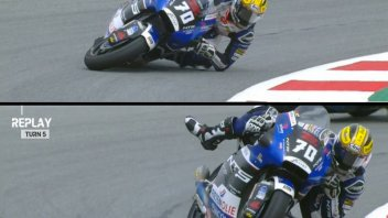 Moto2: VIDEO - Baltus and the Marquez-style save: 'I was inspired by Marc'