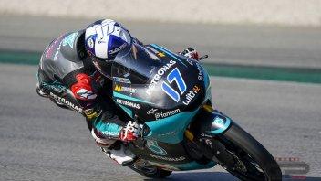 Moto3: Sachsenring: tripletta Honda in FP1 con McPhee, Suzuki e Rodrigo