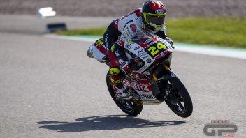 Moto3: Assen: Per Suzuki 1° posto e una caduta nelle FP2 segnate dalla pioggia