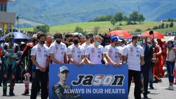 Moto3: Jason Dupasquier's #50 withdrawn at the Sachsenring