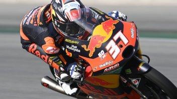 Moto3: Pedro Acosta ci mette lo zampino: miglior tempo nella FP2. 5° Fenati