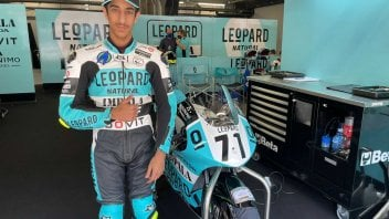 Moto3: Leopard Racing and the QMMF join forces
