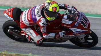 Moto3: Garcia trionfa al fotofinish, sul podio Alcoba e Oncu, paura per Sasaki