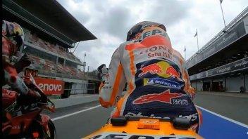 "MotoGP: VIDEO - Marquez sticks to Miller. Jack: ""How much for my slipstream?"""
