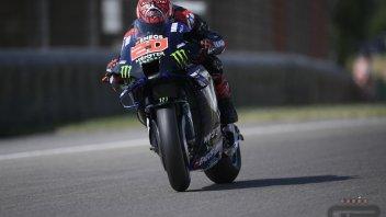 MotoGP: Quartararo il migliore nel Warm Up al Sachsenring. Morbidelli 5°, Rossi 11°