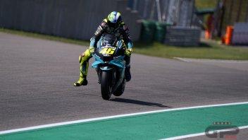 """MotoGP: Rossi: """"Sachsenring favorevole a Yamaha? Non è mai stato così"""""""