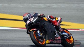"""MotoGP: Marc Marquez: """"Sono distrutto, ma avevo bisogno di una giornata così"""""""