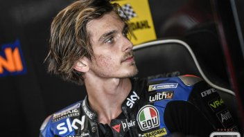 """MotoGP: Marini: """"I have to learn to use my body better when cornering, happy with the tests"""""""