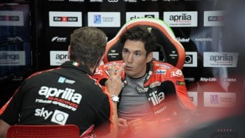 """MotoGP: A. Espargarò: """"The Ducatis and the KTMs are like dragsters. We need more power"""""""