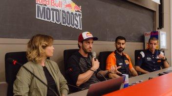 MotoGP: Dovizioso sale in cattedra: una lezione all'Università di Bologna