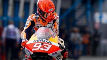 "MotoGP: Marquez: ""Pensavo fosse impossibile correre oggi, sono umano"""