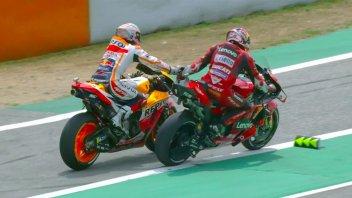 MotoGP: Marquez e Miller, non serve pagare ma solo stringere una mano