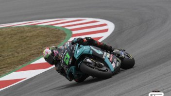 MotoGP: Festa Yamaha in FP3: doppietta Morbidelli e Quartararo. Rossi in Q2, Marquez no