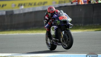 MotoGP: Quartararo vince in solitaria ad Assen: Vinales 2°, Mir 3°. Caduto Rossi
