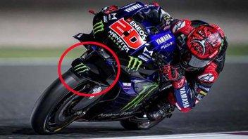 MotoGP: Nuova aerodinamica Yamaha per migliorare il raffreddamento