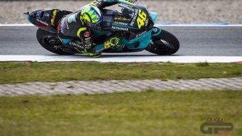 """MotoGP: Rossi: """"Le ali non hanno cambiato lo stile di guida, gomme e freni sì"""""""