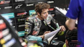 """MotoGP: Rossi: """"basta un brutto turno perché dicano, ritirati ma oggi mi sono divertito"""""""
