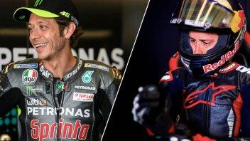 MotoGP: Un mercoledì da leoni per Rossi con Ducati e Dovizioso con Aprilia