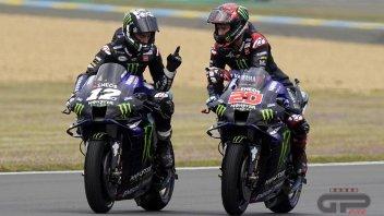 MotoGP: Luci e ombre in Yamaha: Quartararo splende, Vinales si spegne