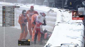 MotoGP: VIDEO Johann Zarco, la pole col botto al Sachsenring