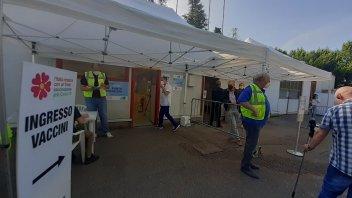 News: L'autodromo del Mugello ospita un hub vaccinale Covid-19