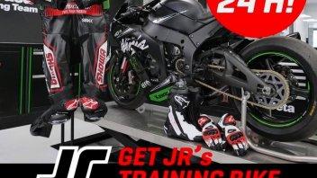 SBK: Oltre 45.000 € per la Kawasaki da allenamento di Rea su Ebay!