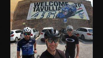 SBK: Jonathan Rea in Misano trained by bike, destination Tavullia